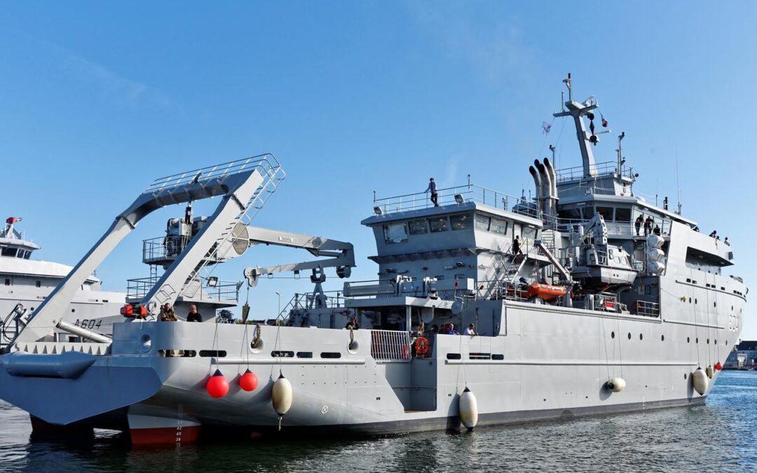 Industrias Ferri equipa la cubierta del último oceanográfico del astillero Piriou